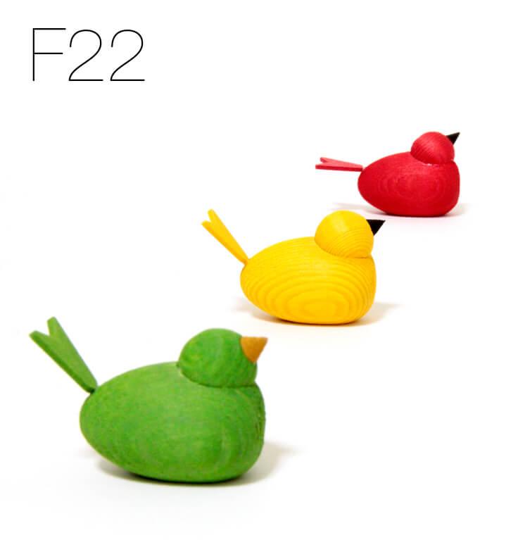 F22の場合の写真