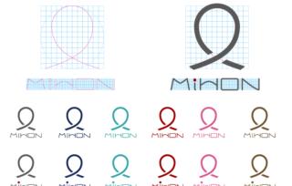 ★ロゴの作り方★Illustratorでグリッドを意識したロゴ制作の手順。