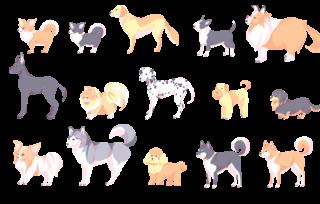 犬のフリー素材