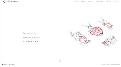 ホームページ制作実績 visage