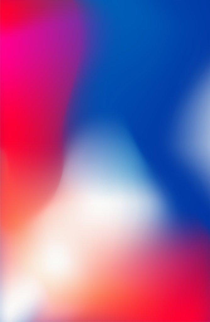 iphoneXのグラデーションが完成